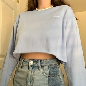 "PacSun ""Blessed"" Cropped Sweater 🙏🏼"